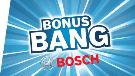 Offres de remboursement Bosch