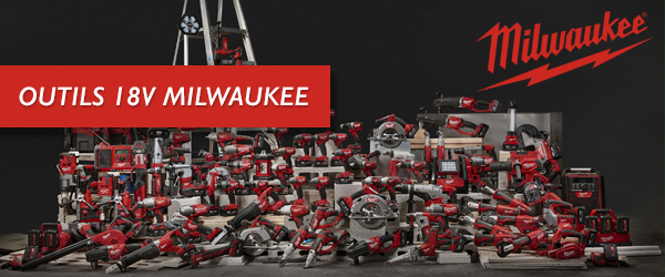 Plateforme 18V Milwaukee