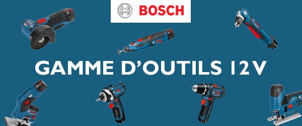 Gamme 12V Bosch