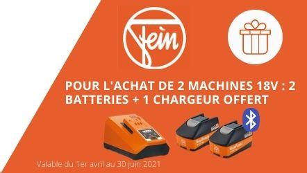 Batterie et chargeur Fein offert