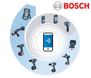Outils connectés Bosch professionnel