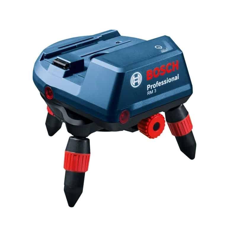 Bosch support motoris rm3 t l commande rc2 0601092800 for Trepied pour laser bosch