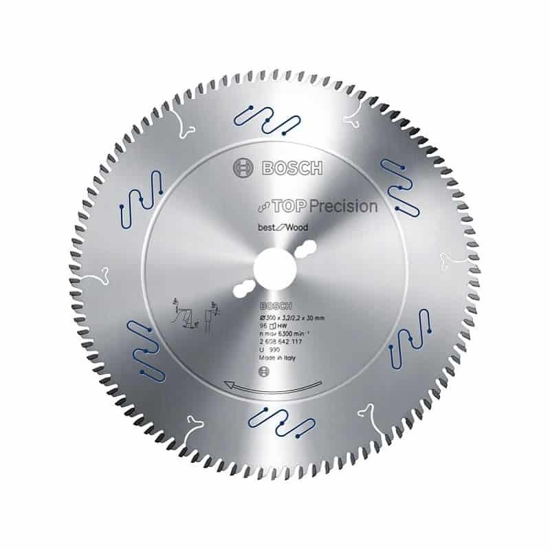 e9783f4c3b4765 BOSCH Lames de scies à onglets radiales Best for Wood - Denture négative -  Bois