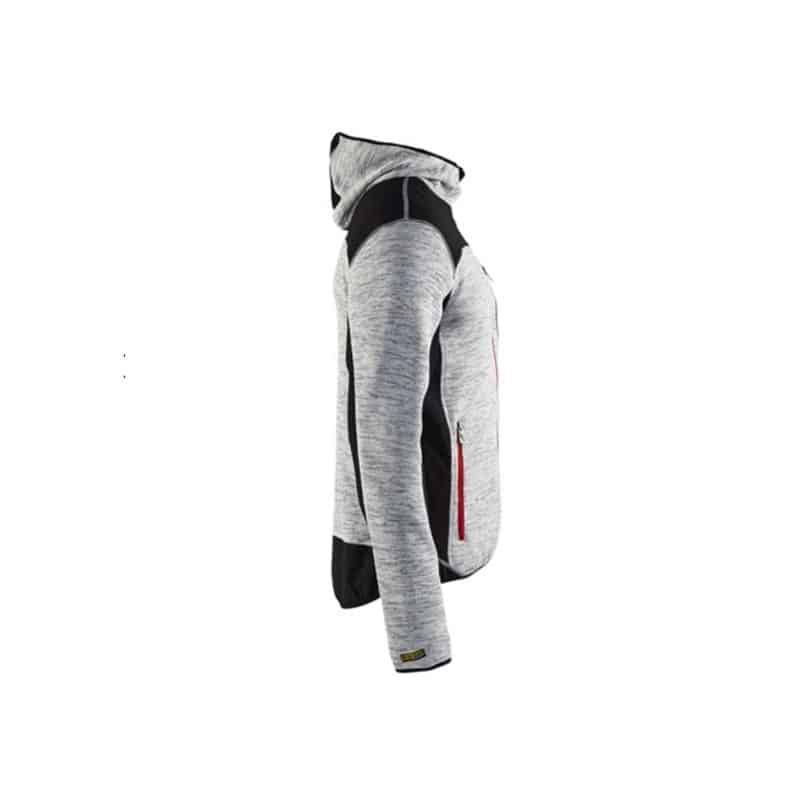 BLAKLADER Veste tricotée à capuche - 4930 - Sweat-shirt   Pull b0c7bbf99e53