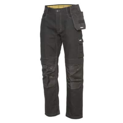 CATERPILLAR Pantalon de travail noir Custom Elite - 1810022