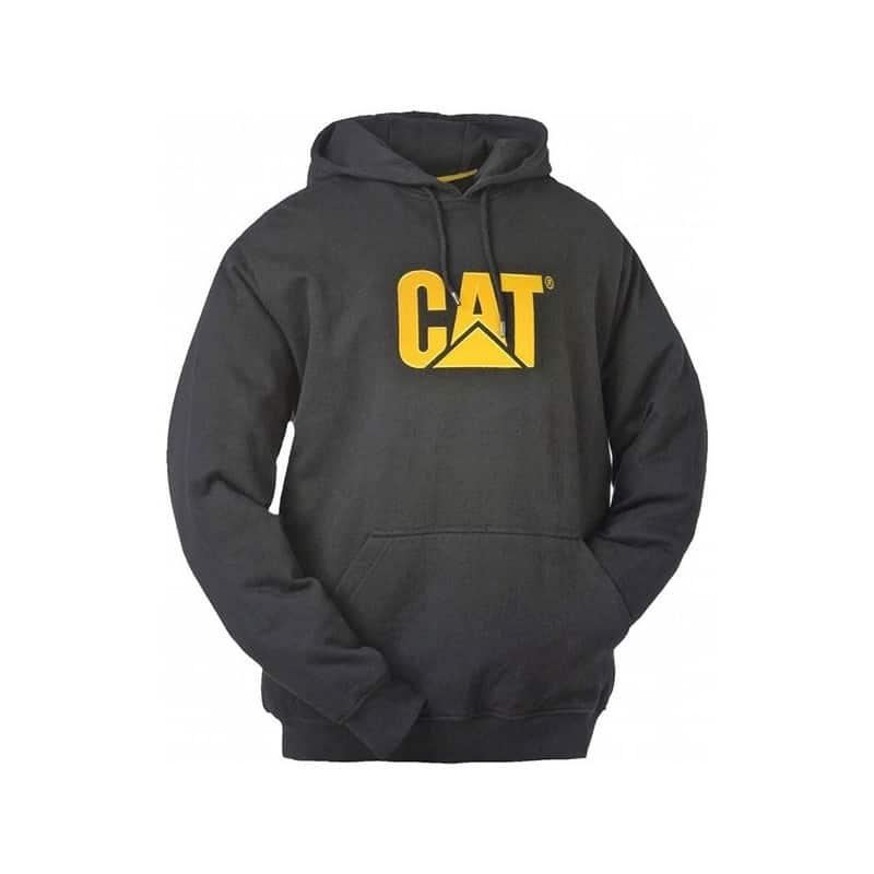 CATERPILLAR Sweatshirt à capuche noir Trademark - W10646 - Sweat ... 6baacf92f5ee