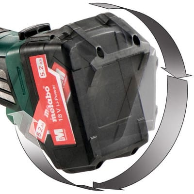METABO Meuleuse d'angle 18V solo W18LTX125 Quick - 602174840