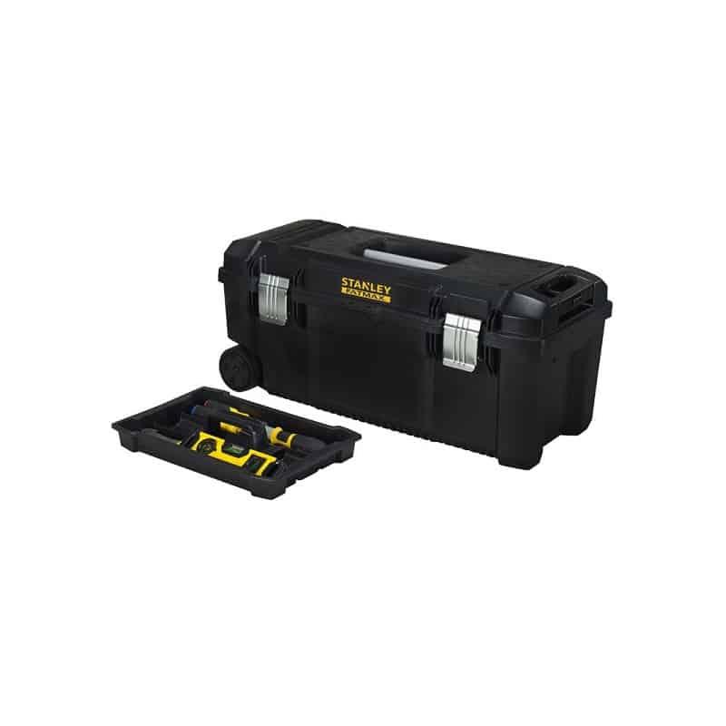 3b1a6b1cc1073 STANLEY Boite à outils étanche avec roulettes FatMax 39L - FMST1-75761