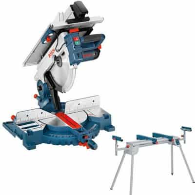 BOSCH Scie a onglets a table superieure  GTM12JL + GTA2600 >>