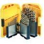 DEWALT coffret de 29 forets metal Ø 1 à 13mm HSS-G - DT7926
