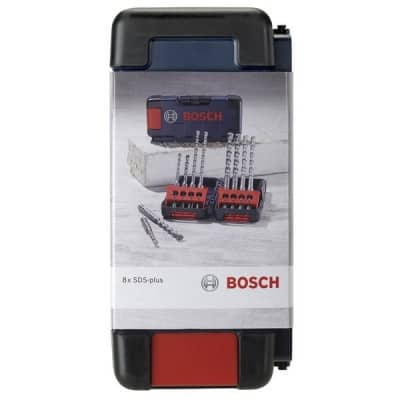 BOSCH coffret 8 forets beton SDS-plus - 2607019903