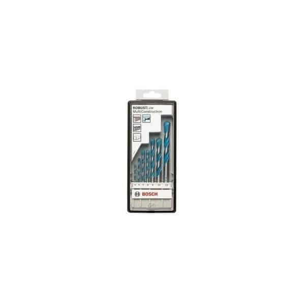 BOSCH coffret RobustLine 7 forets MultiConstruction - 2607010543