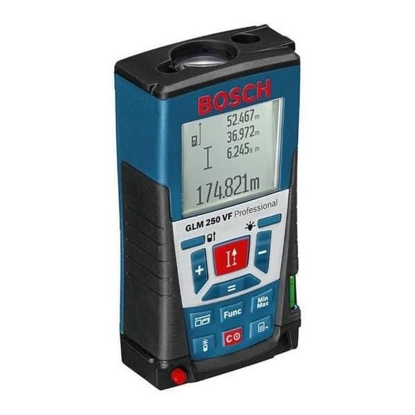 BOSCH télémètre laser portée 250m - GLM 250 VF - 0601072100
