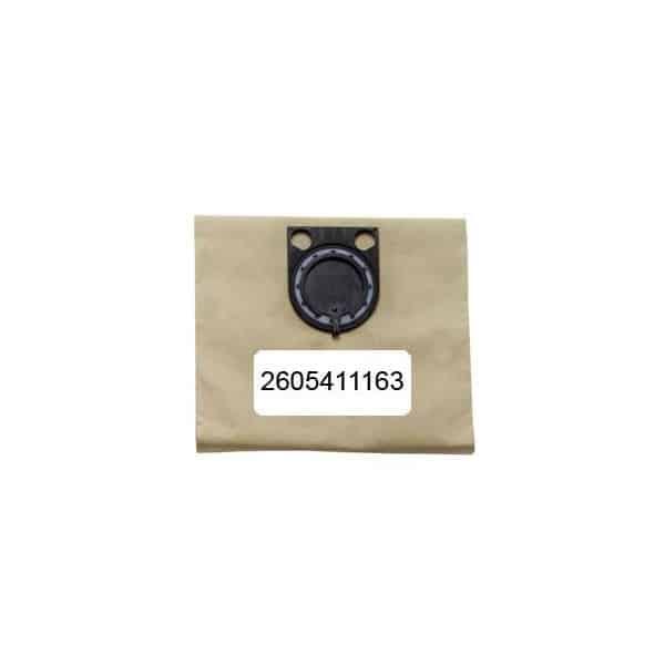 BOSCH 5 sacs papier pour aspi GAS50 et GAS50M Réf 2605411163