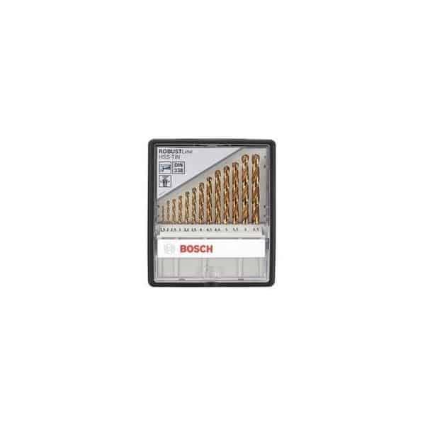 BOSCH coffret 13 forets metaux rectifiés HSS-tin - 2607010539