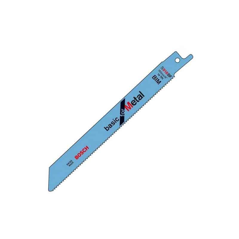 bosch carte de 5 lames de scie sabre m tal s918b 2608651781 lame scie sabre alligator. Black Bedroom Furniture Sets. Home Design Ideas
