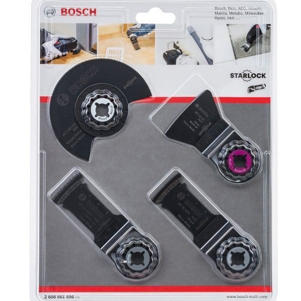 BOSCH Set Menuisier 4 pièces - 2608661696