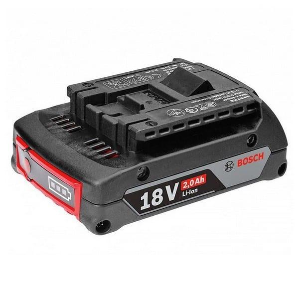 BOSCH Batterie Li-Ion 18V 2,0 Ah - 1600Z00036