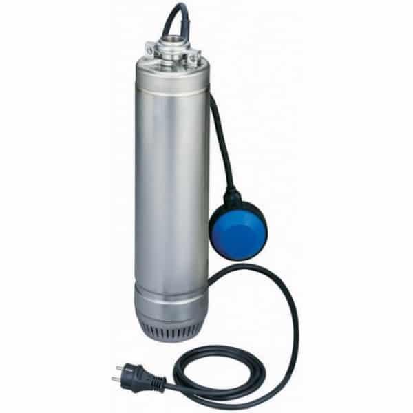 """LOWARA Pompe de puit 5"""" pour eau claire - 0,75 kW - 5,2 A - SC207C"""