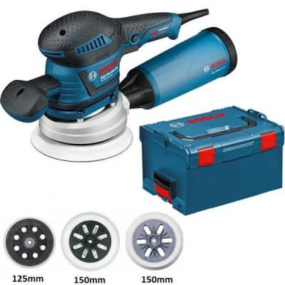 BOSCH Ponceuse excentrique 125/150mm 400W GEX125-150AVE - 060137B101