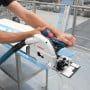 PACK - BOSCH Scie circu plongeante GKT55GCE + FSN1600 - 0601675002