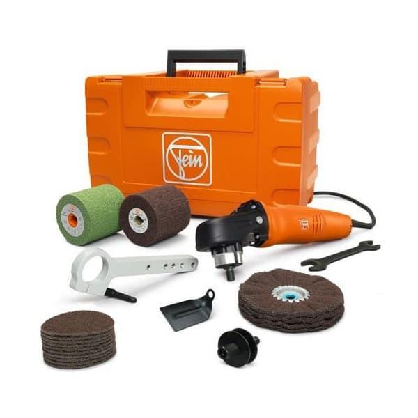 FEIN Set Inox polisseuse 1200W - WPO14-25E set - 72214950010