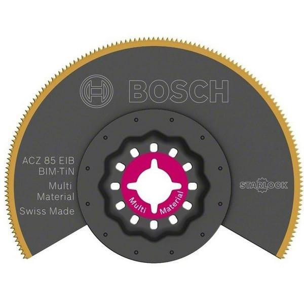 BOSCH Lame de scie segment Starlock  85 mm Multi Material - ACZ85EIB