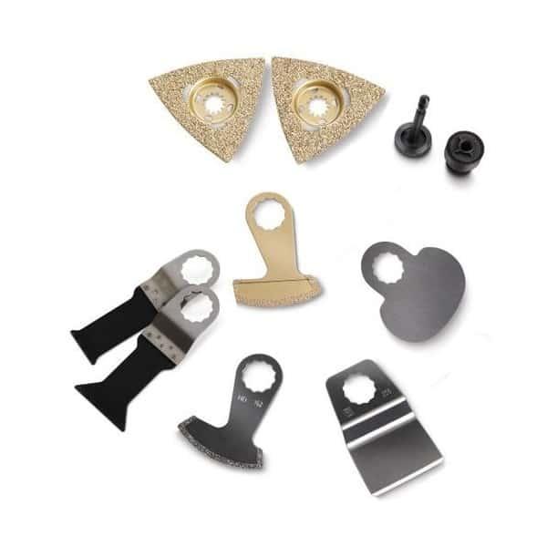 FEIN Set d accessoires rénovation Carrelage - 63903167580 SuperCut