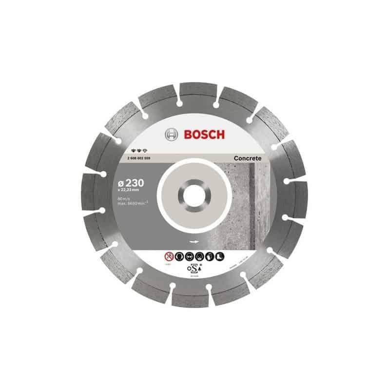 f5c2969e8c4716 BOSCH Disques à tronçonner diamantés spécial béton - Expert for Concrete
