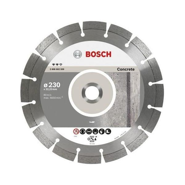 BOSCH Disques à tronçonner diamantés spécial béton - Expert for Concrete
