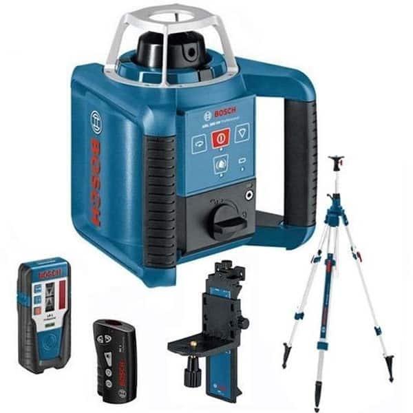 PACK - BOSCH Laser rotatif auto H et V 300m GRL300HV+BT300HD 061599403X