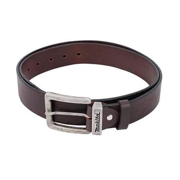 MAKITA ceinture cuir brun taille L - Réf: P-72235