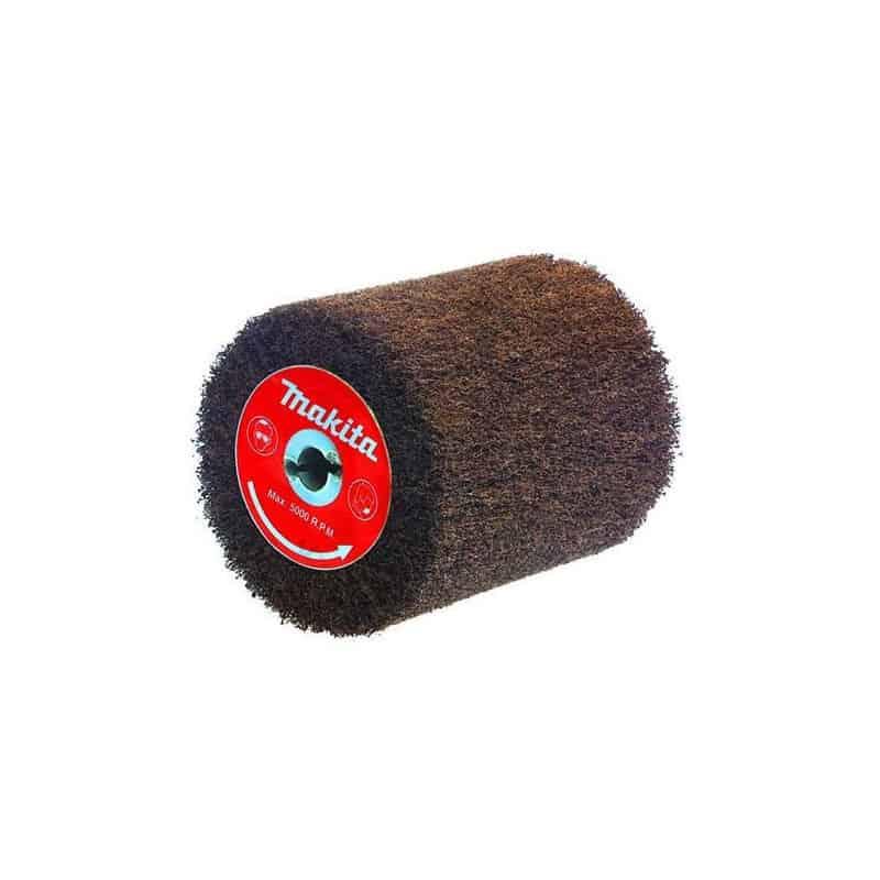 makita brosse texture abrasive pour d capeur rouleau 9741 accessoire de pon age polissage. Black Bedroom Furniture Sets. Home Design Ideas