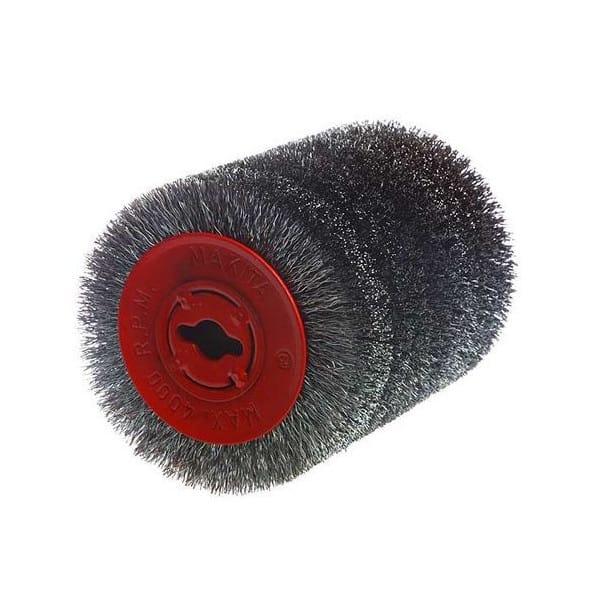 MAKITA Brosse fil d acier pour décapeur à rouleau 9741- Réf. P-04400