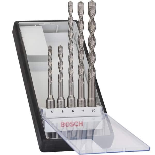 BOSCH Coffret 5 forets béton SDS-plus X5L Robust Line - 2608585073