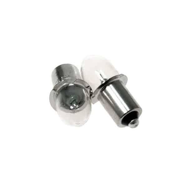 MAKITA Lot de 2 ampoules 14,4 / 18 V  pour modéle BML184   - Réf. B-07303