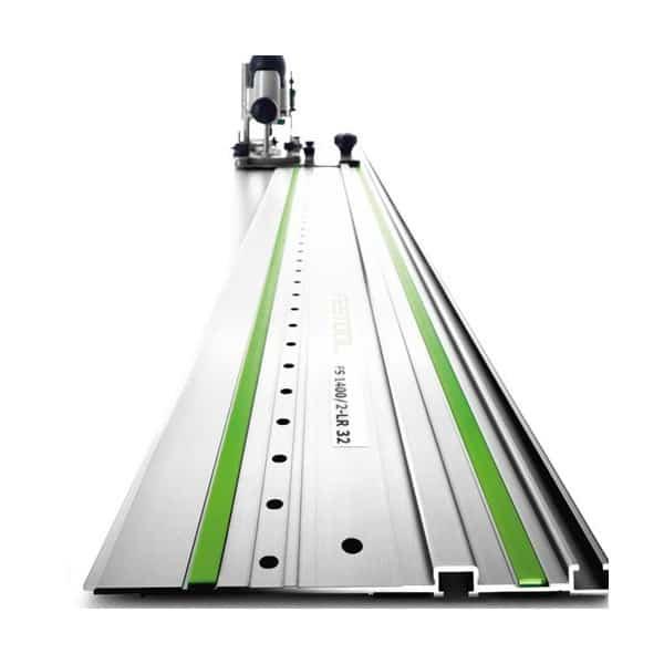FESTOOL Rail de guidage L1,4m FS 1400/2-LR 32 - 496939