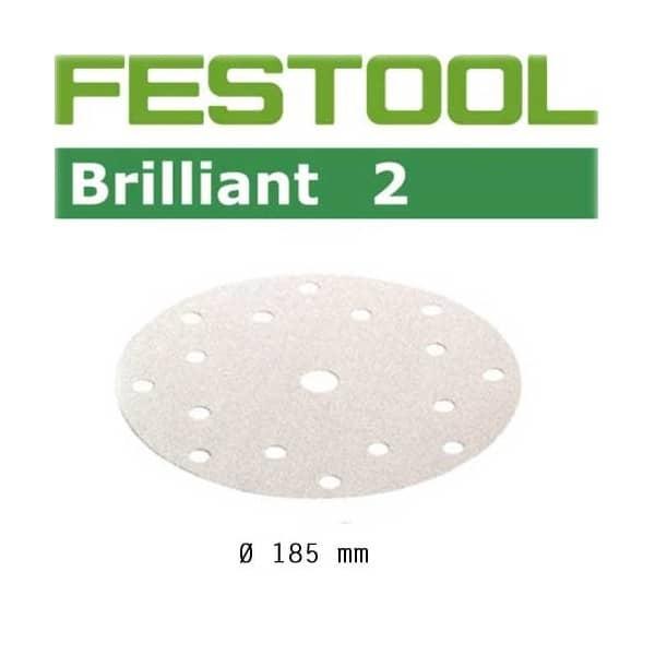 FESTOOL Lot de 50 abrasifs STF16 P80 BR2/50 - Réf. 493023