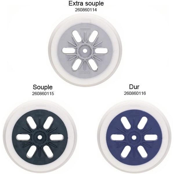 BOSCH Plateaux de ponçage 150mm pour GEX125-150AVE - GEX150AC - GEX150Turbo