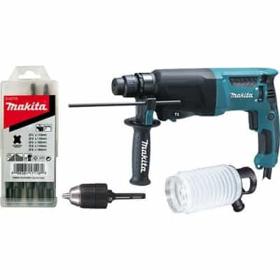 SDS-Plus perforateur MAKITA HR2600X9 - 800 W 2,4 J