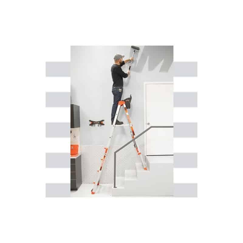little giant escabeau selecstep 5 8 avec airdeck lig. Black Bedroom Furniture Sets. Home Design Ideas