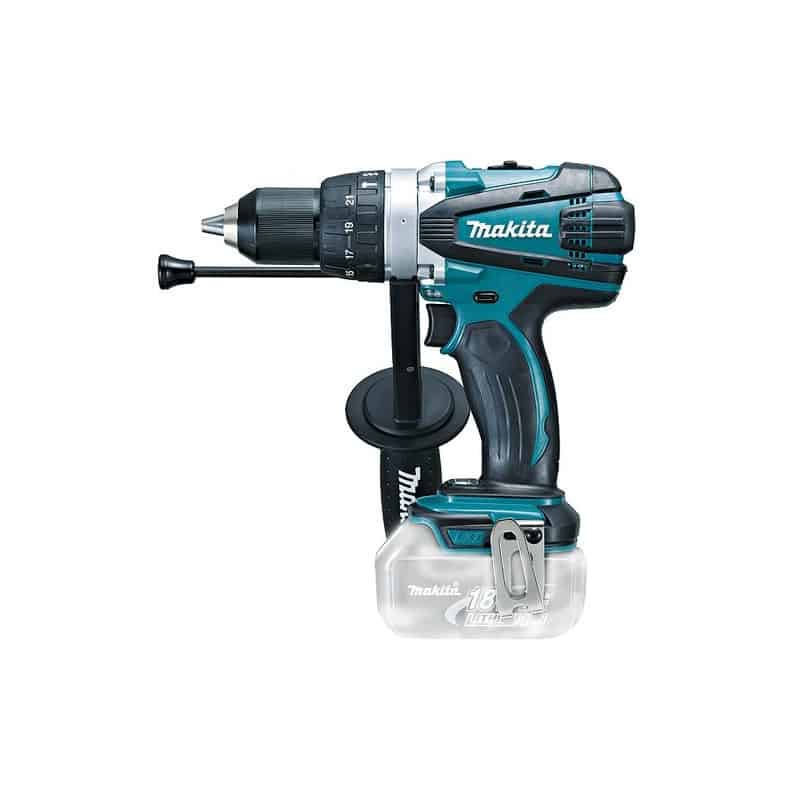 MAKITA Perceuse viss. percussion Ø 13 mm 18 V  - DHP458Z (solo)