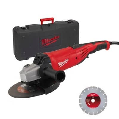 MILWAUKEE Meuleuse 230mm 2200W - AG22-230D-SET - 4933440292