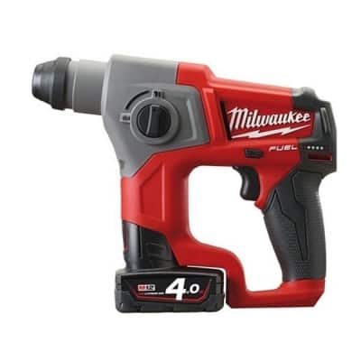 MILWAUKEE Perforateur 12V 4Ah SDS-plus M12CH 402C - 4933441475