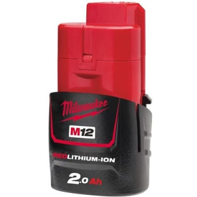MILWAUKEE Batterie 12V 2Ah - M12 B2 - 4932430064