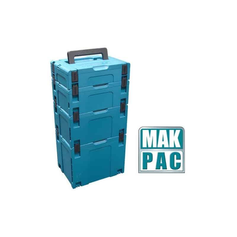 Makita coffret makpac 1 821549 5 rangement coffret for Valise makita avec tous ses accessoires