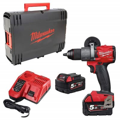 MILWAUKEE Perceuse visseuse percu 18V 5Ah M18 FPD2-502X - 4933464264
