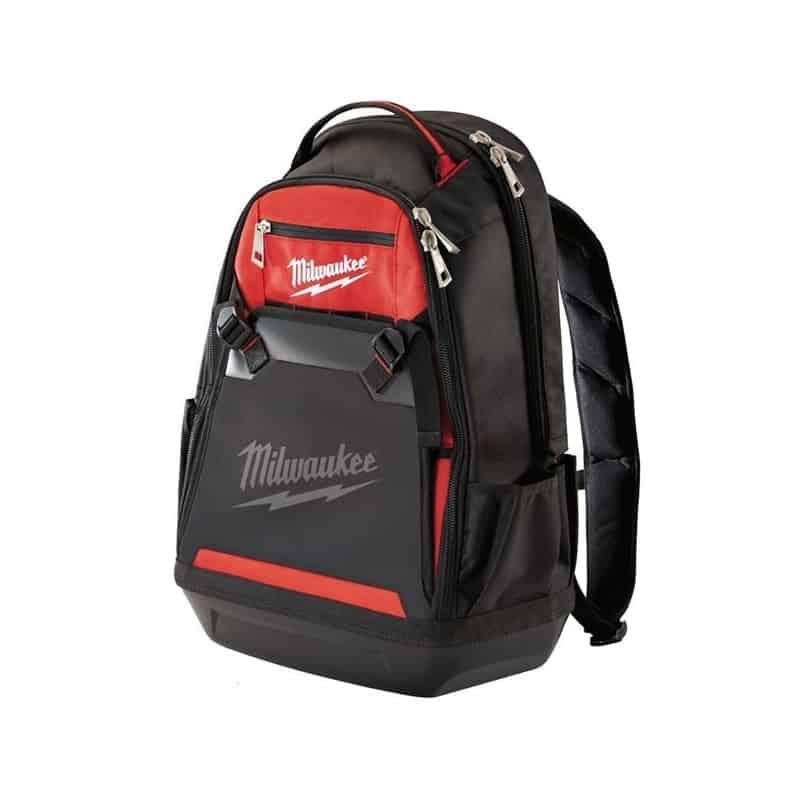 milwaukee sac dos porte outils de chantier 48228200 rangement coffret holster sacoche. Black Bedroom Furniture Sets. Home Design Ideas