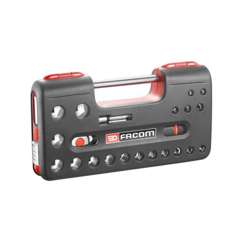 Facom Coffret 22 Pièces Cliquet Et Douilles 1 2 S 360dbox4pb
