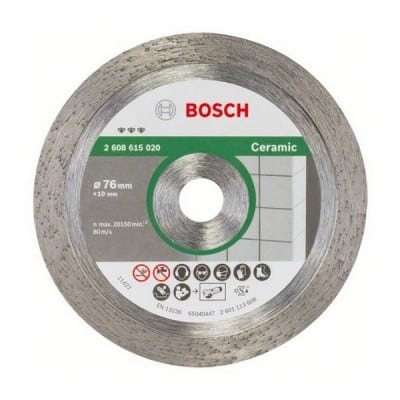 BOSCH Disque diamant 76 mm Best for Céramic - 2608615020